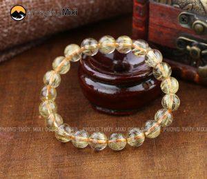Vòng tay đá Thạch anh vàng, cho Xử Nữ luôn may mắn