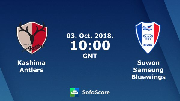 Kashima Antlers vs Suwon Bluewings (17h00 ngày 3/10: Champions League Châu Á)