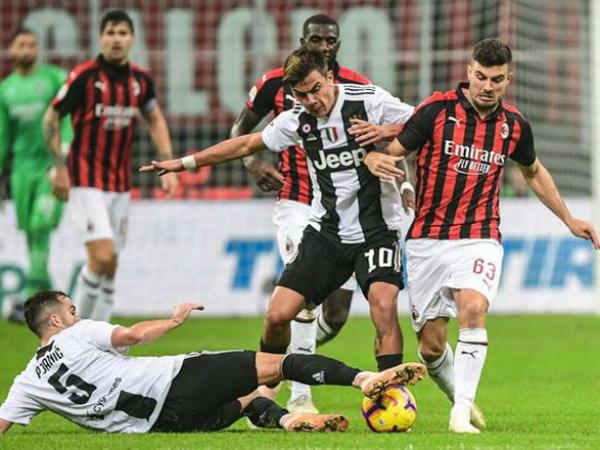 Juventus lội ngược dòng thành công trước AC Milan