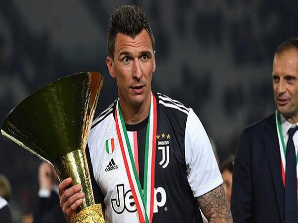 Tiền đạo Mario Mandzukic đang trên đường rời Juventus