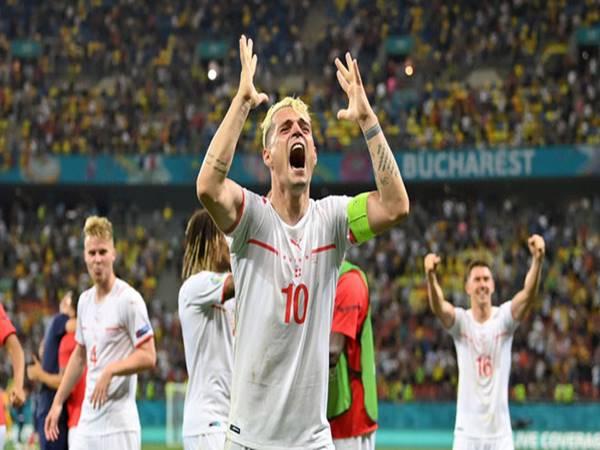 Bóng đá Euro 1/7: Xhaka vắng mặt trận Thụy Sĩ đấu Tây Ban Nha